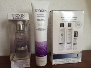 Nioxin diaboost, intensive treatment en systeem 6